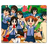 26x21cm 10x8inch Gaming Mouse Pad rubber + cloth tracking performance black rubber back Azumanga Daioh