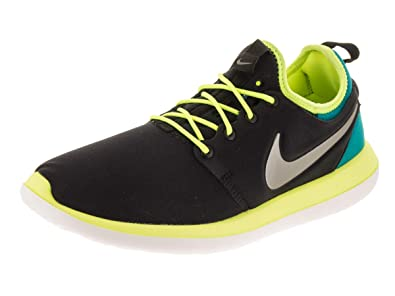 promo code d3e72 e0089 Nike Roshe 2 (GS) Black/Volt/Rio Teal/Metallic Pewter 5. 5 Youth US: Buy  Online at Low Prices in India - Amazon.in