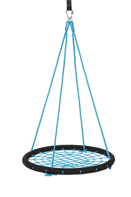 Skybound Giant Round Tree Swing Net, Black/Blue. 40'' by Skybound