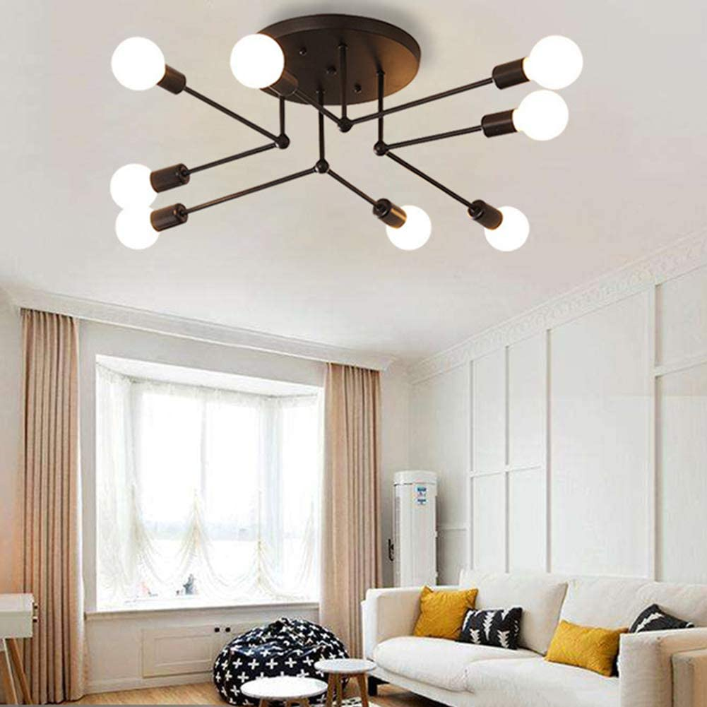 Wohnzimmer Kronleuchter Modern Schlafzimmer Pendelleuchte,4 Light