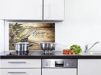 GRAZDesign 200117_100x50_SP Spritzschutz Glas für Küche/Herd | Bild ...