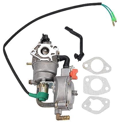 Amazon.com: Harbot GX270 Dual Carburador LPG NG Conversión ...