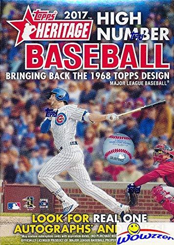 Derek Jeter Autograph Baseball - 2017 Topps Heritage High Number Baseball Factory Sealed Retail Box! Look for Autographs of Derek Jeter, Aaron Judge, Cody Bellinger & More!