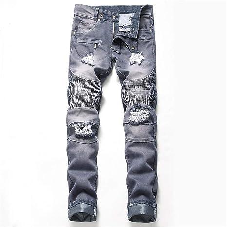 Jeans calientes Pantalones vaqueros para hombre Pantalones ...