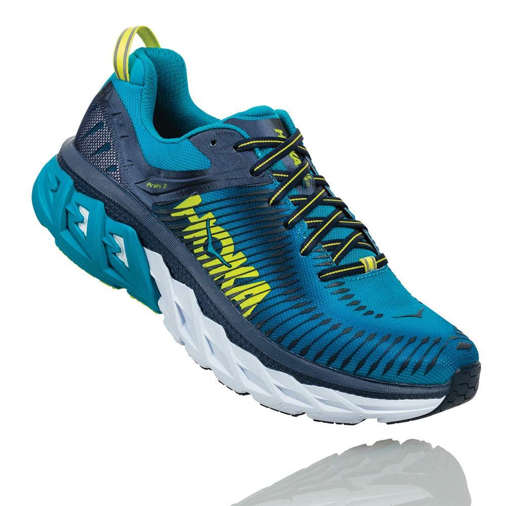 Hoka One One Arahi 2 Running schuhe Men Caribbean sea Dress Blau Schuhgröße US 7   EU 40 2018 Laufsport Schuhe