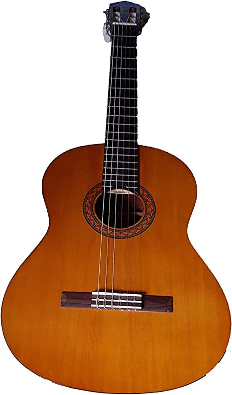 Yamaha CS40 – Guitarra clásica (incluye funda): Amazon.es ...