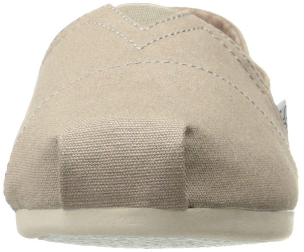 Skechers BOBS Women's Plush-Peace and Love Flat, Taupe, 8.5 W US by Skechers (Image #4)