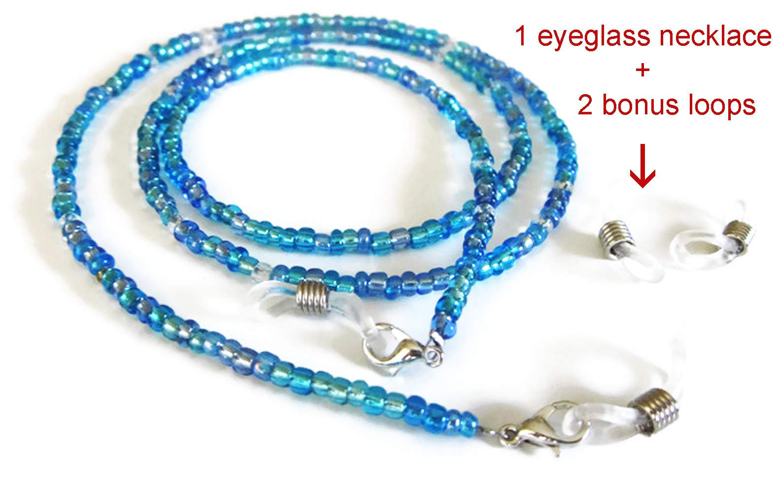 Women's Eyeglass Beaded Chain by Silk Rose