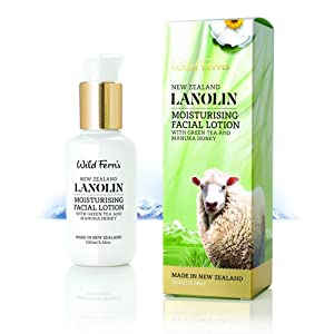 Wild Ferns New Zealand Lanolin Moisturizing Lotion