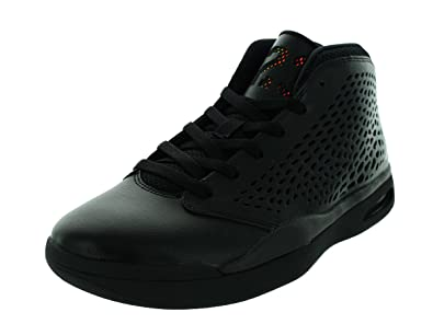 102c3ad9459d60 Jordan Nike Men s Flight 2015 Black White Black Basketball Shoe 8