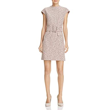 47fdb1f109c Amazon.com: Theory Womens Tweed Cap Sleeves Wear to Work Dress: Clothing