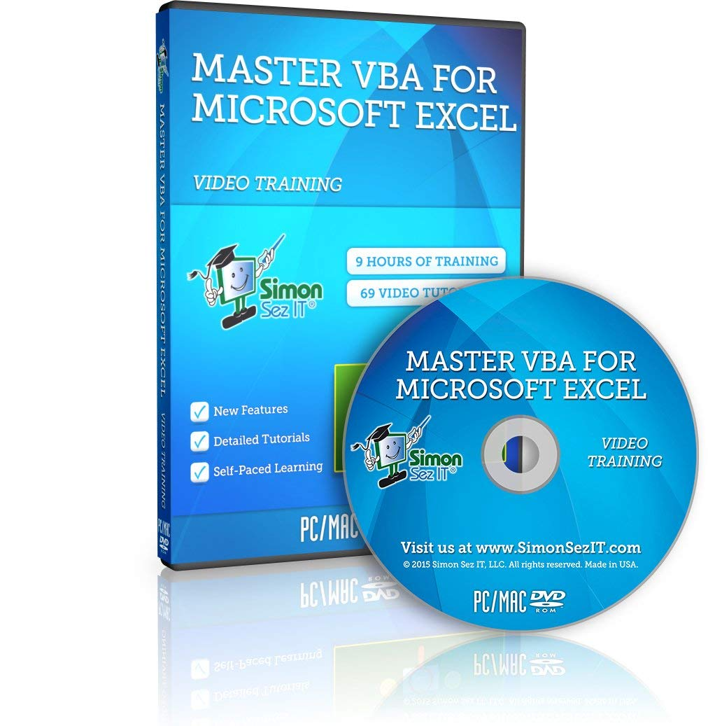 Master VBA Training for Excel: Discover How to Put Excel on Autopilot by Simon Sez IT