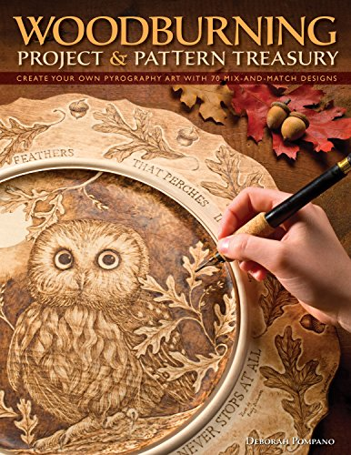 World Wildlife Patterns (Woodburning Project & Pattern Treasury: Create Your Own Pyrography Art with 75 Mix-and-Match Designs (Fox Chapel Publishing) Step-by-Step Instructions for Both Beginners and Advanced Woodburners)