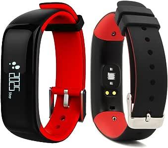 roguci 0.86 OLED brazalete de fitness Tracker Reloj Muñeca, Smart ...