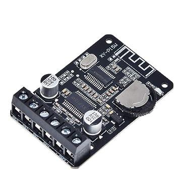 iHaospace XY-P15W - Amplificador estéreo Bluetooth (10 W/15 ...