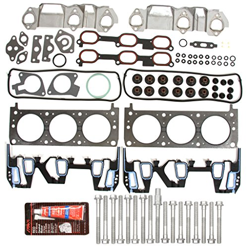 Evergreen HSHB8-10401 Cylinder Head Gasket Set Head Bolt (1999 Pontiac Grand Am Head Gasket Replacement)