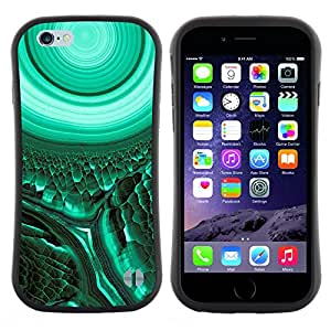 "Hypernova Slim Fit Dual Barniz Protector Caso Case Funda Para Apple (5.5 inches!!!) iPhone 6 Plus / 6S Plus ( 5.5 ) [Biología Celular Verde trullo Misteriosa""]"