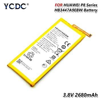 Amazon.com: YCDC HB3447A9EBW - Batería original para Huawei ...