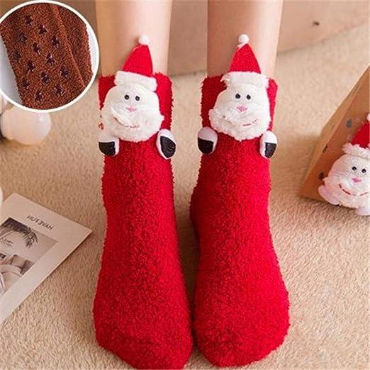 iStary Navidad Calcetín Lindo De Algodón Animal De Dibujos ...