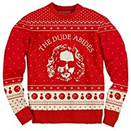 The Big Lebowski The Dude Abides Ugly Christmas Sweater