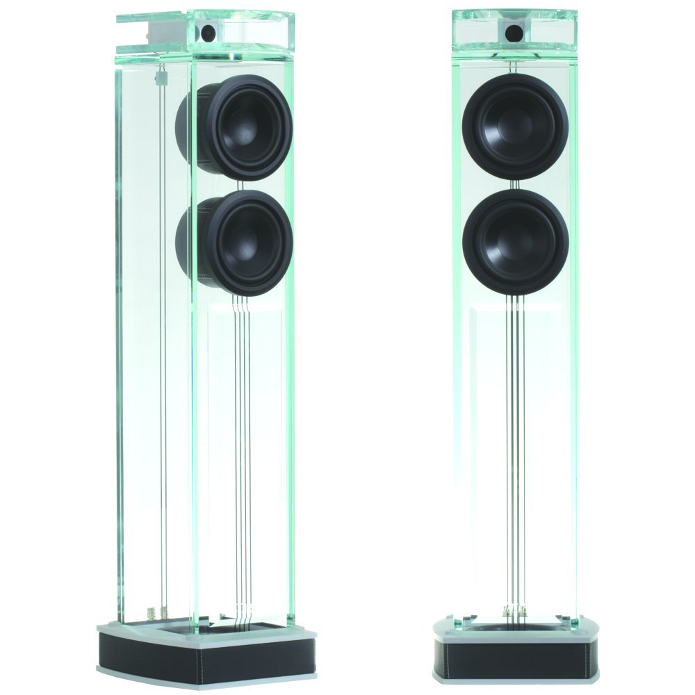 Amazoncom Waterfall Audio Niagara Diamond Glass Floor Standing