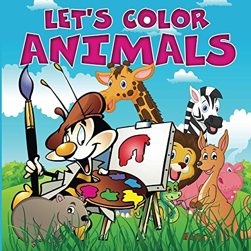 Lets Color Animals Coloring Book ebook