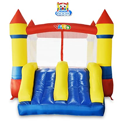 amazon com yard bounce house dual slide with blower indoor outdoor rh amazon com backyard bounce house rentals backyard bounce house frederick md