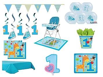 XXL para fiestas infantiles set 1. Cumpleaños Niño Azul 48 ...