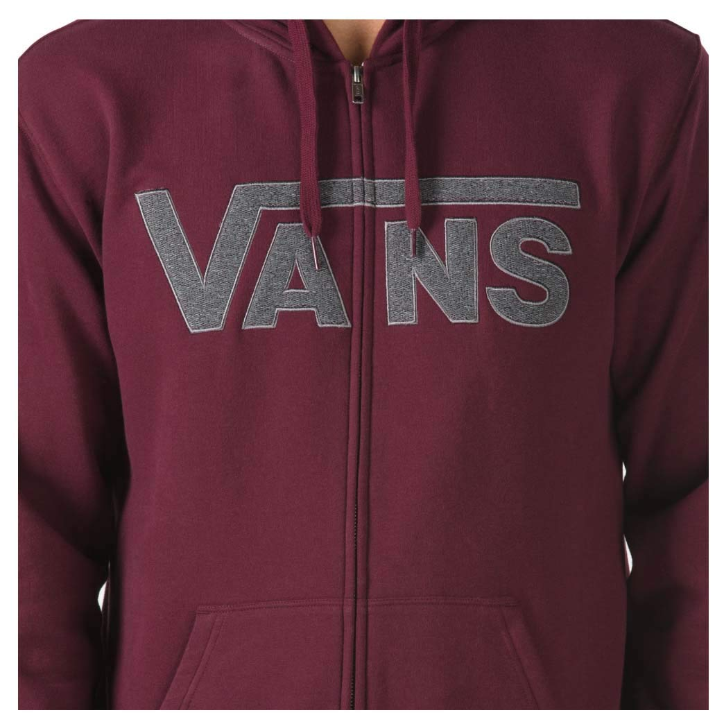 50c294c2 Vans Men's Drop V Full Zip up Hoodie at Amazon Men's Clothing store: