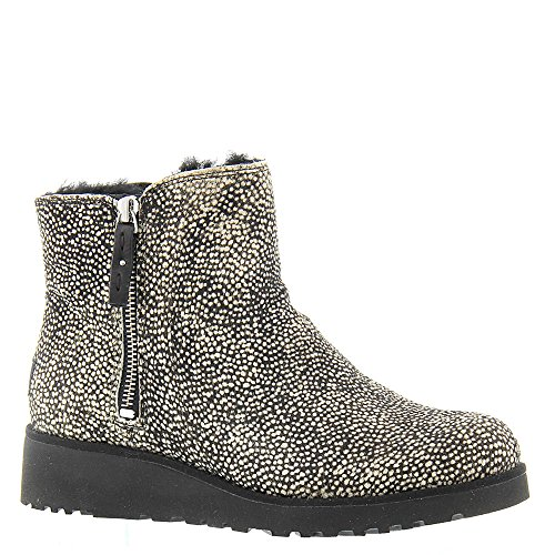 Ugg Fur Boots (UGG Women's Shala Exotic Black Dotted Boot)
