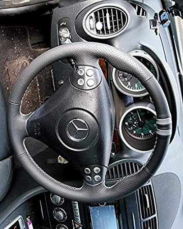 Mercedes C-class W203 2000-07 bota/funda para palanca de cambios de