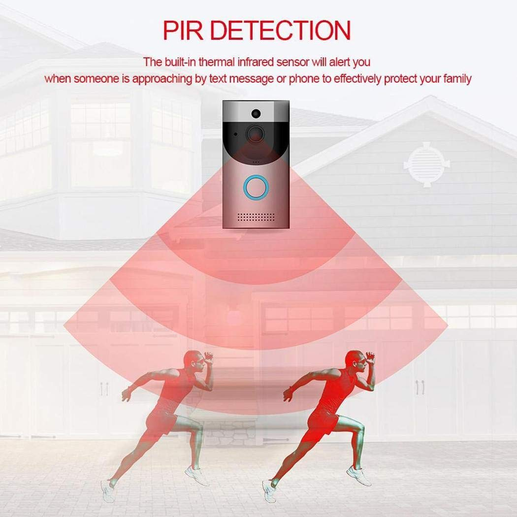 Erholi Home Alarm Smart Wifi Wireless Video Intercom Doorbell Kits by erholi (Image #6)