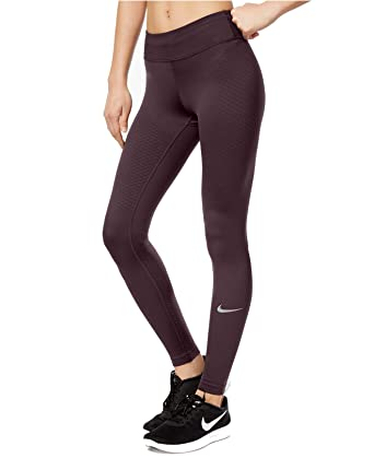 300b669d2fcfd Nike Women's Zonal Strength Compression Running Leggings Raisin Extra Small