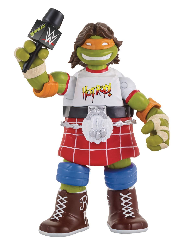 Teenage Mutant Ninja Turtles Ninja Super Stars: Michelangelo As Rowdy Roddy Piper Action Figure