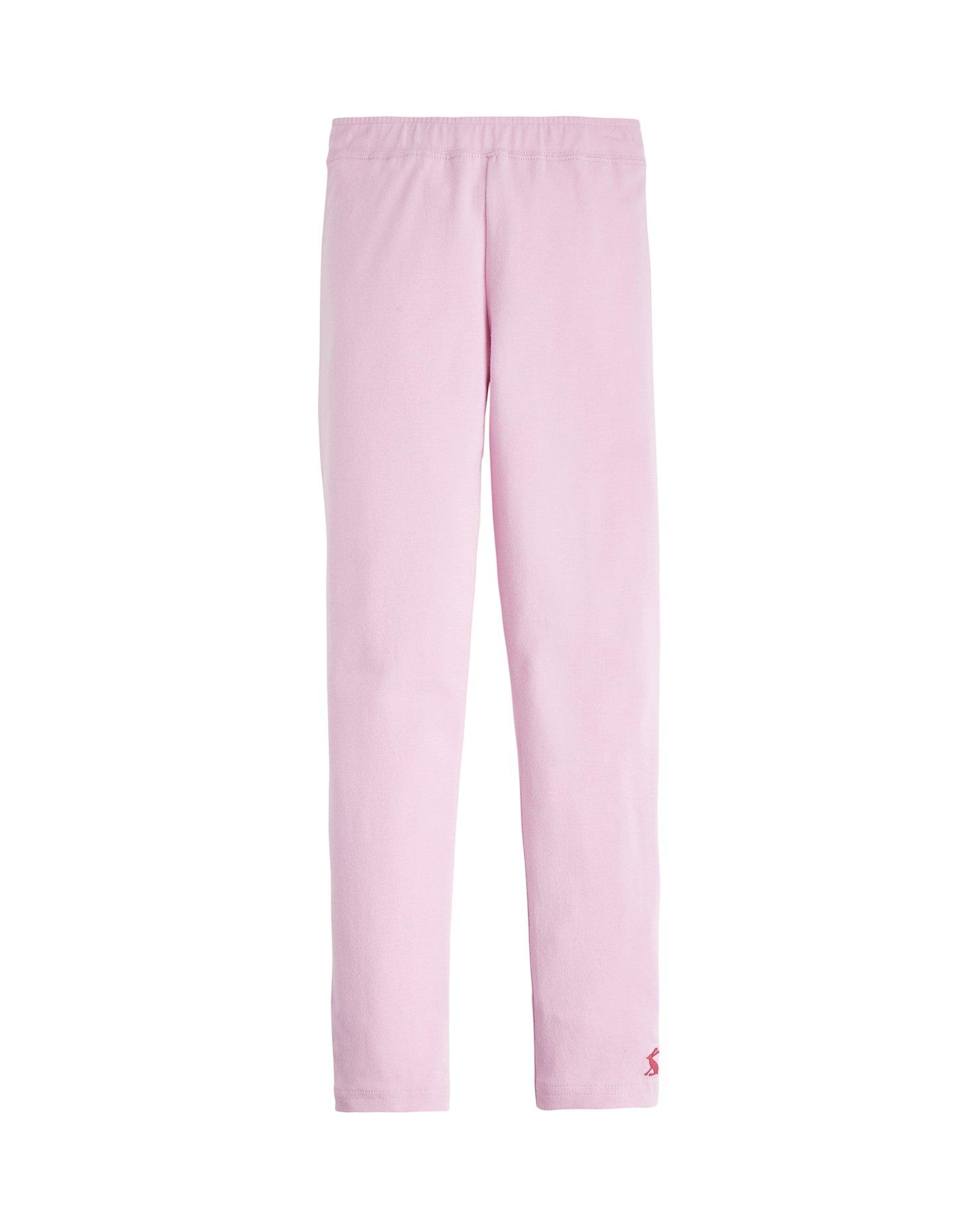 Joules Emilia Jersey Leggings - Dusk Pink - 1 Year - 80 cm
