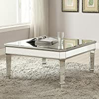 Coaster Home Furnishings 703938 Coffee Table, NULL, Silver