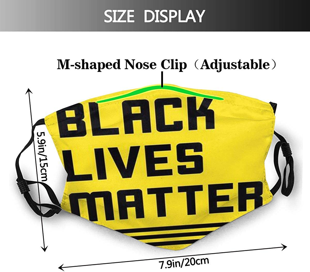 Mouth Tooth Cartoon Fierce 3D Custom Design Fashion Comfortable Adjustable Facial Decorations