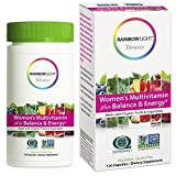 Rainbow Light Vibrance Women's Multivitamin Plus Balance & Energy, 120 Count Capsules, Dietary Supplement Made with Whole Foods