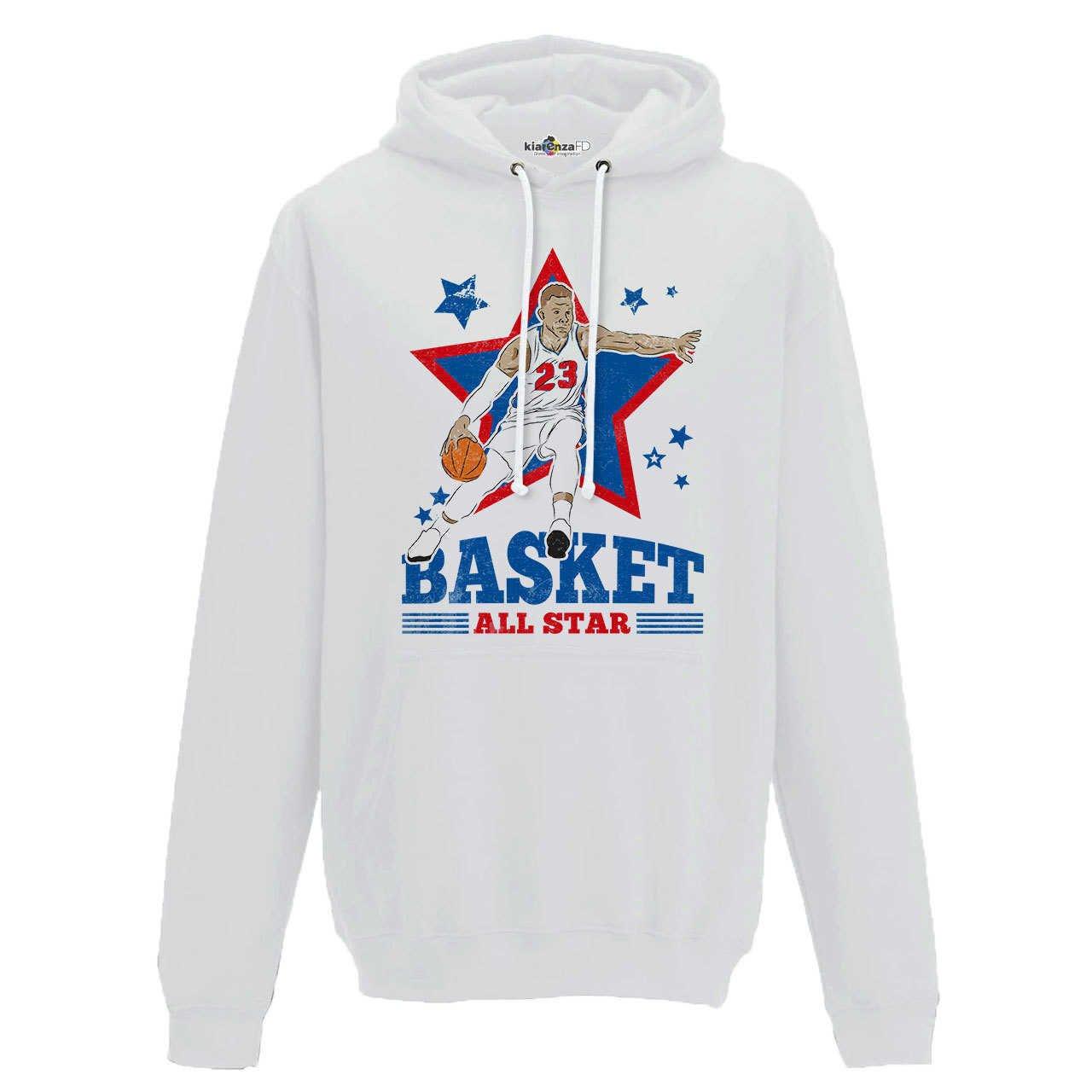 KiarenzaFD Sudadera Capucha Baloncesto Vintage Parodia Blake All ...