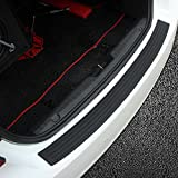 Automotive : Rear Bumper Protector,EJ's SUPER CAR Rear Bumper Guard Rubber and Rear Guard Bumper Protector ,Prevent Scratches While Unloading and Loading For fits most cars,Easy D.I.Y. Installation(35.8 inch)