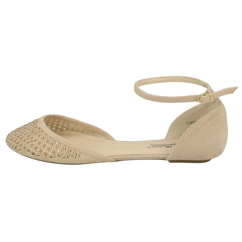 Ladies Anne Michelle Flat Shoes Style - L4952: Amazon.co.uk: Shoes & Bags