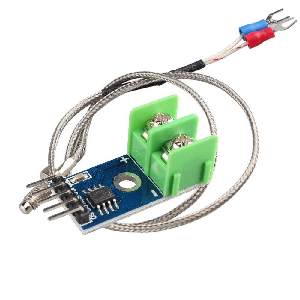 Zhusha Ldtr Wg0119 Max6675 Type K Thermocouple Amplifier And Cold Junction Compensator Simple Temperature Sensor Module 01024c Testing Range For Arduino Raspberry Pi
