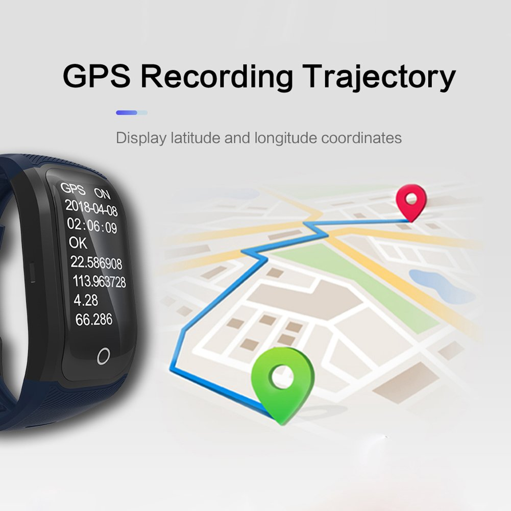 OOLIFENG Reloj Running con GPS, IP68 Impermeable GPS para Ciclismo ...
