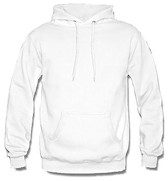 Footex - Sudadera con capucha, confeccionada en Italia, color blanco: Amazon.es: Deportes y aire libre
