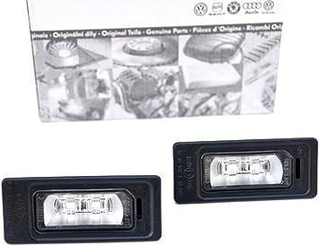 Original Audi LED Kennzeichenbeleuchtung Kennzeichenleuchten 2er Set 4G0943021A