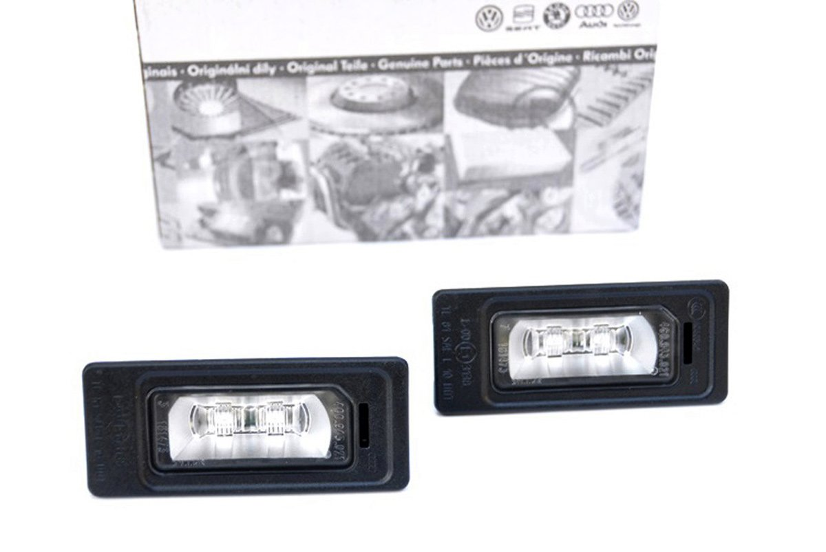 Original Audi LED KennzeichenbeleuchtungA1 8X A4 8K A5 8T A6 4G A7 Q5 8R TT 8J 4G0943021 S-Line LED Leuchten LED Kennzeichenleuchten