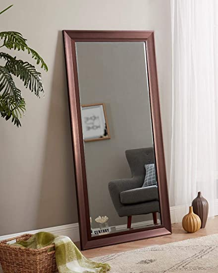 Naomi Home Framed Bevel Leaner Mirror 66″ x 32″/Oil Rubbed Bronze