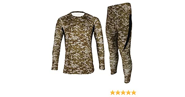 Amazon.com  Jagger Men s Fleece Camouflage Running Cycling Jersey T-Shirt  Pants Sets XXL Brown  Arts a6907e092