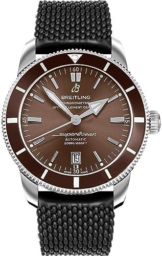 Breitling AB202033/Q618-267S SuperOcean Heritage II 46 - Reloj para Hombre: Amazon.es: Relojes