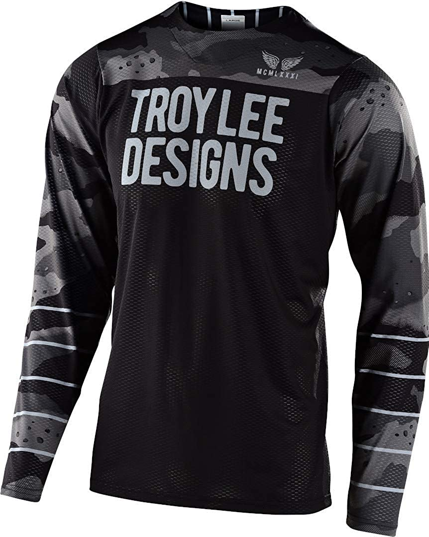 Troy Lee Designs Skyline Air Pinstripe Mens Off-Road BMX Cycling Jersey